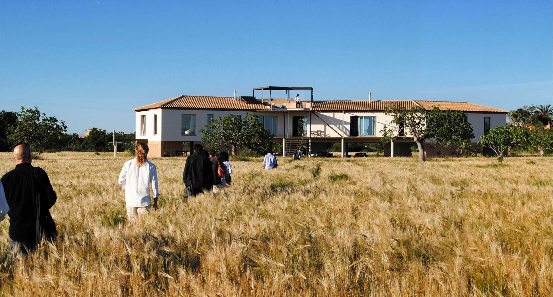 SELF-SUFFICIENT NEW HOUSE NEAR SANTANYI IN A FIG ORCHARD